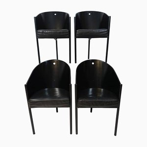 Vintage Costes Chairs by Philippe Starck for Driade, Set of 4