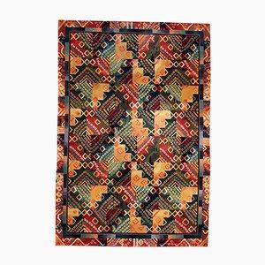 Handgemachter Chinesischer Teppich, 1980er