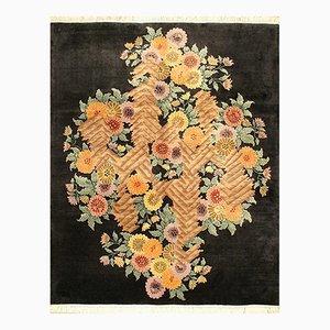 Art Deco Chinese Handmade Rug, 1920s