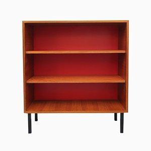 Teak Veneer & Resopal Bookcase, 1960s