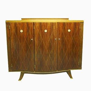 Vintage Art Deco Mahagoni Schrank von Albert Fournier
