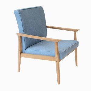 Blauer Polnischer Sessel, 1960er