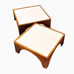 Tavolini Gruppo Means di Gae Aulenti per Poltronova, 1968, set di 2