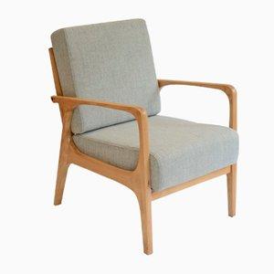 Grauer Deutscher Sessel, 1960er