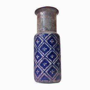 Vase Persia Moderniste en Grès Glacé par Marianne Starck pour Michael Andersen & Son, 1960s