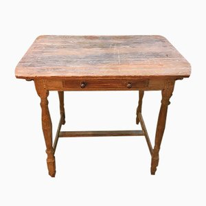 Antique Swedish Occasional Table