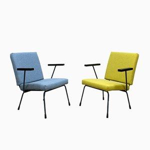 Vintage 415/1407 Armlehnstühle von Wim Rietveld & A.R. Cordemeyer für Gispen, 2er Set