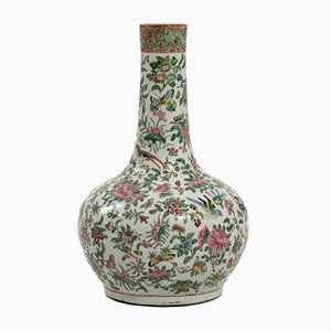 19th Century Chinese Rose Porcelain Vase