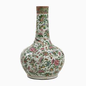 Vase en Porcelaine Rose 19ème Siècle, Chine
