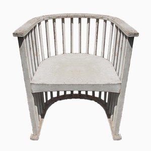 Chaise Antique Sécession Viennoise en Bois
