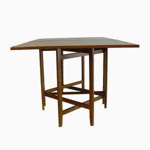Tavolo da pranzo vintage pieghevole di Bendt Winge per Kleppe Moblefabrikk, anni '60