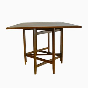 Vintage Folding Teak Dining Table by Bendt Winge for Kleppe Møbelfabrikk, 1960s
