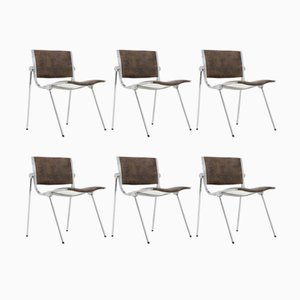 Italian Aluminum Chairs from Vaghi, 1960s, Set of 6