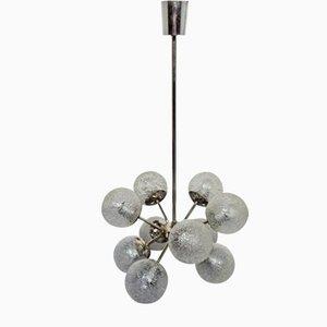 Lámparas Sputnik era espacial, años 60. Juego de 2