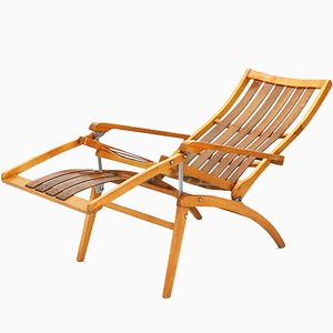 Siesta Medicinal Deck Chair by Hans Luckhardt for Thonet, 1951