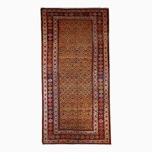 Handmade Persian Kurdish Rug, 1880s