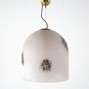 Plafonnier Mid-Century par Barbini