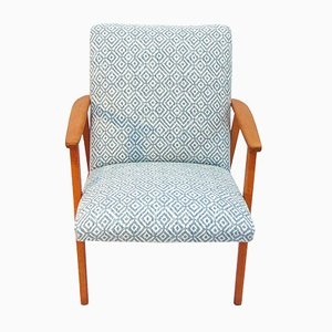 Swedish Oak Armchair, 1960s