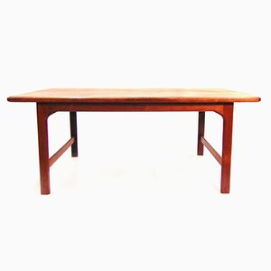 Swedish Coffee Table in Rosewood, 1960s