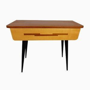 Kleiner Tisch mit Schublade von Diele und Flur, 1950er