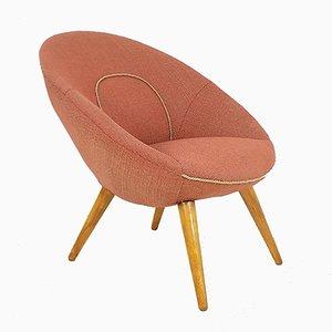 Round Polish Chair from Gościcińska Fabryka Mebli, 1960s
