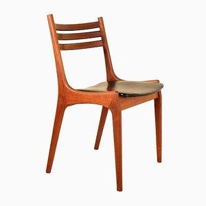 Sedia da pranzo di Kai Kristiansen per Korup Stolefabrik, anni '60