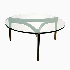 Danish Rosewood Coffee Table by Sven Ellekaer for Christian Linneberg, 1960s