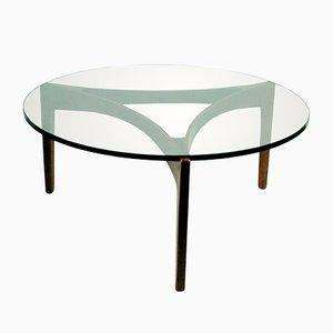Table Basse en Palissandre par Sven Ellekaer pour Christian Linneberg, Danemark,1960s