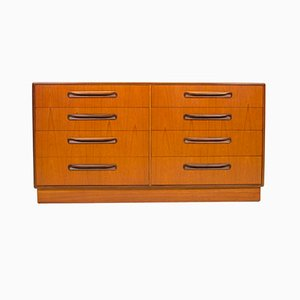 Vintage Fresco Teak Eight-Drawer Chest of Drawers by Victor Wilkins for G-Plan