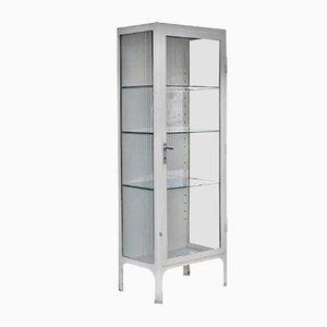 Glazed Medical Cabinet, 1950s