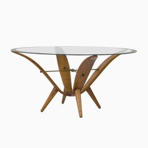 Tavolino da caffè Mid-Century moderno, Italia, anni '50