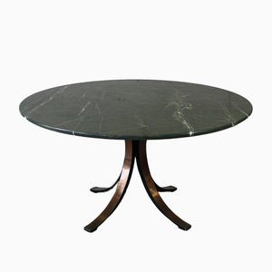 Round Marble Dining Table by Osvaldo Borsani for Tecno, 1964