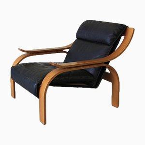Woodline Armlehnstuhl von Marco Zanuso für Arflex, 1964
