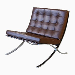 Barcelona Chair by Mies van der Rohe for Knoll International, 1970s