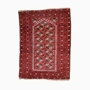 Afghan Adraskand Prayer Handmade Rug, 1920s