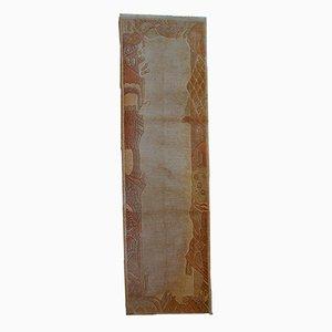 Alfombra Khaden vintage tibetana hecha a mano, años 70