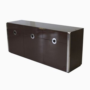 Vintage Three-Door Sideboard by Willy Rizzo for Mario Sabot, 1972