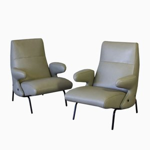 Lounge Chairs by Erberto Carboni for Arflex, 1950s, Set of 2