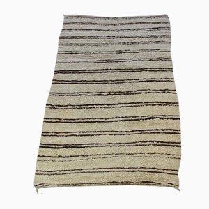 Vintage Beni Ouarain Shaggy Carpet
