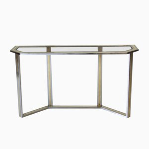Mid-Century Console Table by Romeo Rega
