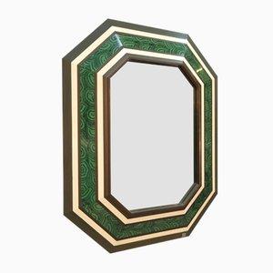Großer Spiegel von Jean Claude Mahey, 1980er