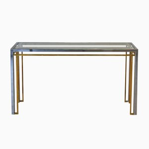 Italian Vintage Console Table, 1970s
