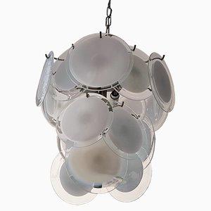 Murano Glas Kronleuchter von Vistosi, 1960er