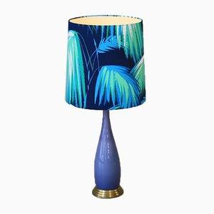 Lampada da tavolo in vetro di Murano, anni '70