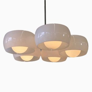 Vintage 5 Shade Triclinio Ceiling Lamp by Vico Magistretti for Artemide