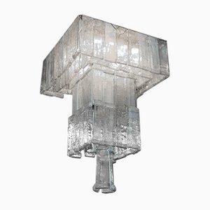 Lámpara de araña grande de Mazzega, años 60