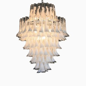 Vintage Murano Glass Saddle Form Chandelier