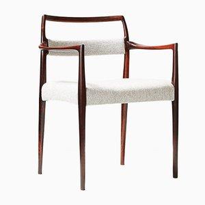 Palisander Stuhl von Johannes Andersen, 1960er