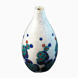 Art Deco Vase by Charles Catteau for Boch Frères, 1930s