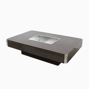 Vintage Alveo Coffee Table by Willy Rizzo for Mario Sabot